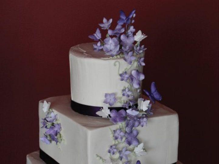 Tmx 1253200604218 Butterflies Duncanville wedding cake