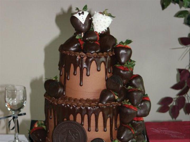 Tmx 1253200654984 Groomscakemarines3tier Duncanville wedding cake