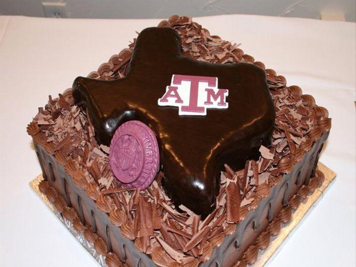 Tmx 1253200747140 TexaswithTAM2 Duncanville wedding cake