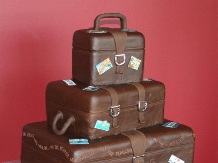 Tmx 1253201844406 Luggage Duncanville wedding cake