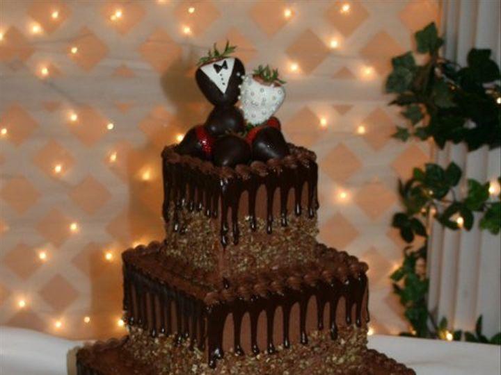 Tmx 1253201897687 Chocpecangrooms Duncanville wedding cake