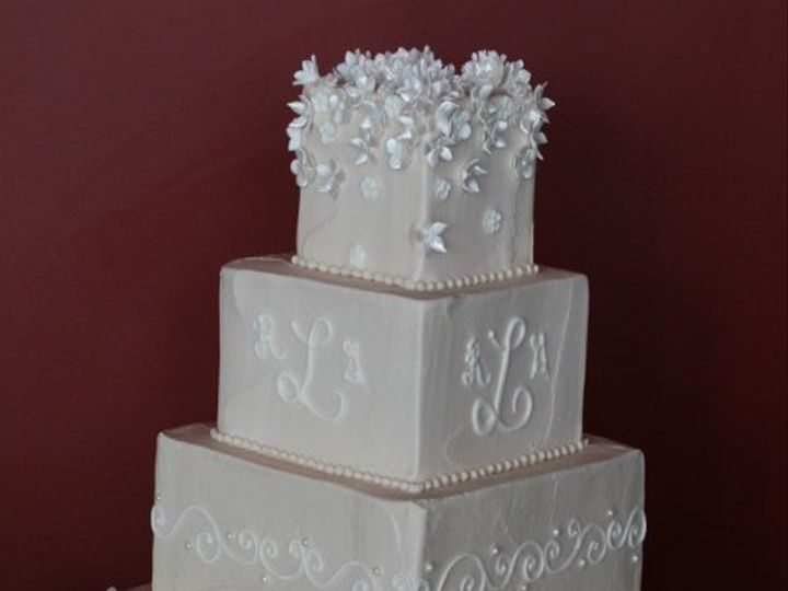 Tmx 1253201912500 Flowerskhaki Duncanville wedding cake