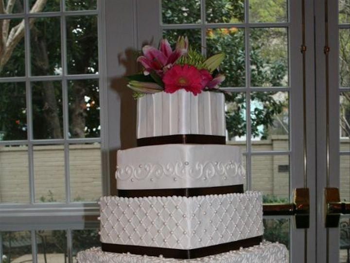 Tmx 1253201971921 5tierblackribbon Duncanville wedding cake