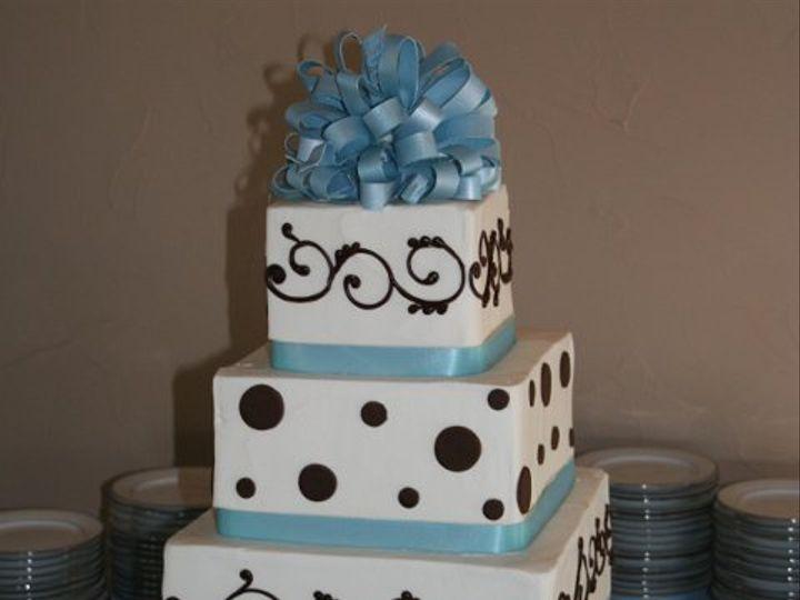 Tmx 1253202002750 Babybluebrown Duncanville wedding cake