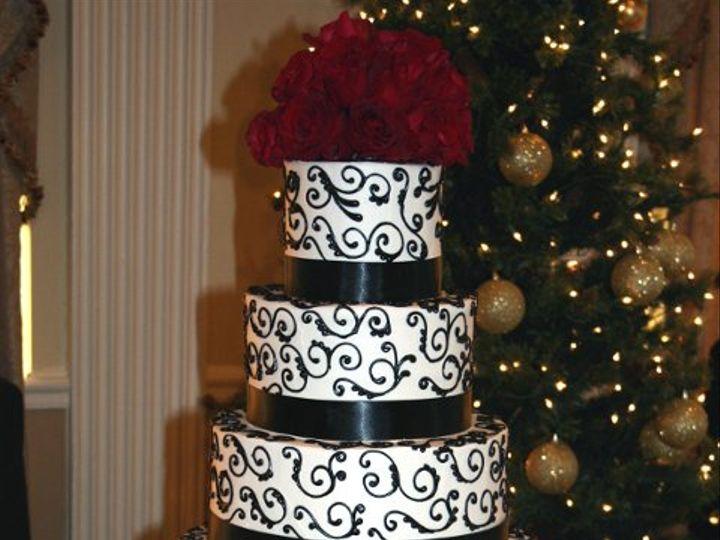 Tmx 1253202097406 Blackscrolls Duncanville wedding cake