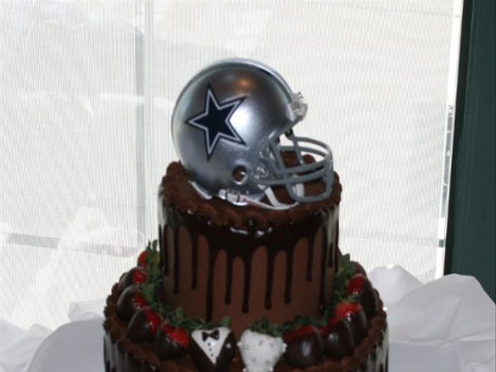 Tmx 1253202244125 Cowboyscake Duncanville wedding cake