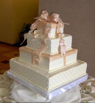 Tmx 1253202293625 Peachbows Duncanville wedding cake