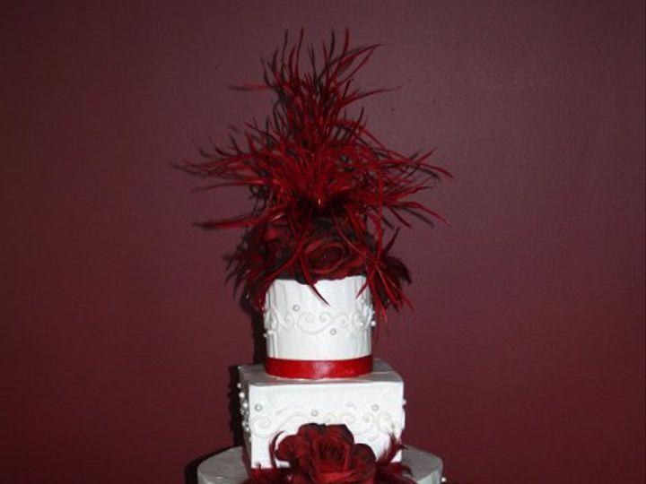 Tmx 1253202375421 Redfeathers Duncanville wedding cake