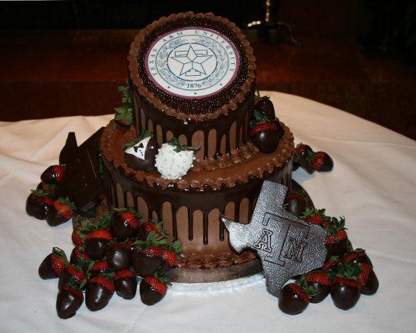 Tmx 1253202466921 TEXasAMgroom Duncanville wedding cake