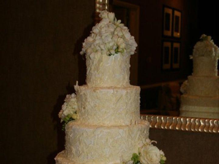 Tmx 1253202584609 Whitechocflowers Duncanville wedding cake