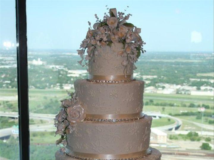 Tmx 1253202615296 Jonesflowers Duncanville wedding cake