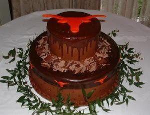 Tmx 1253202659921 Longhorncakelargecropped Duncanville wedding cake