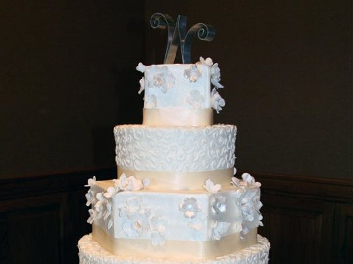 Tmx 1253202752640 Flowercake Duncanville wedding cake