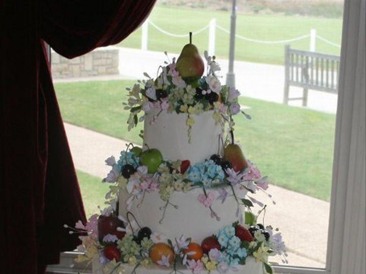 Tmx 1253202756593 Flowersround Duncanville wedding cake