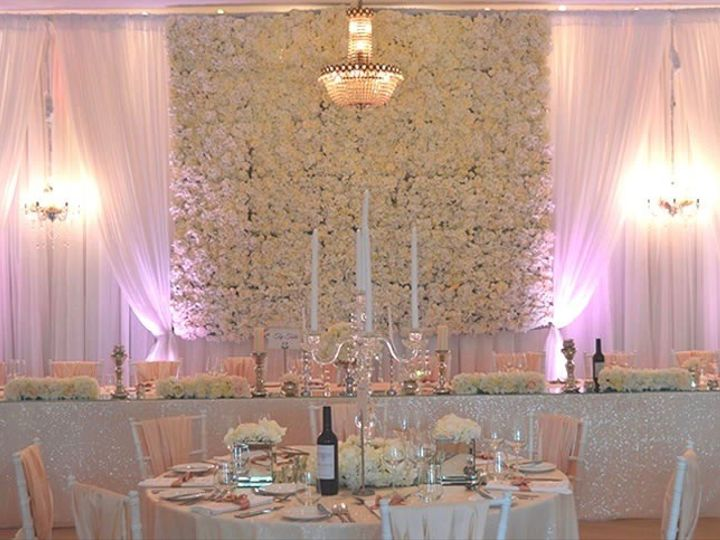 Tmx 1495574506696 Flower Wall Backdrops 2 Elk Grove Village, Illinois wedding florist