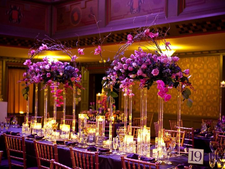 Tmx 1495574759912 Tall Table Acrylic Floral Centerpieces Elk Grove Village, Illinois wedding florist