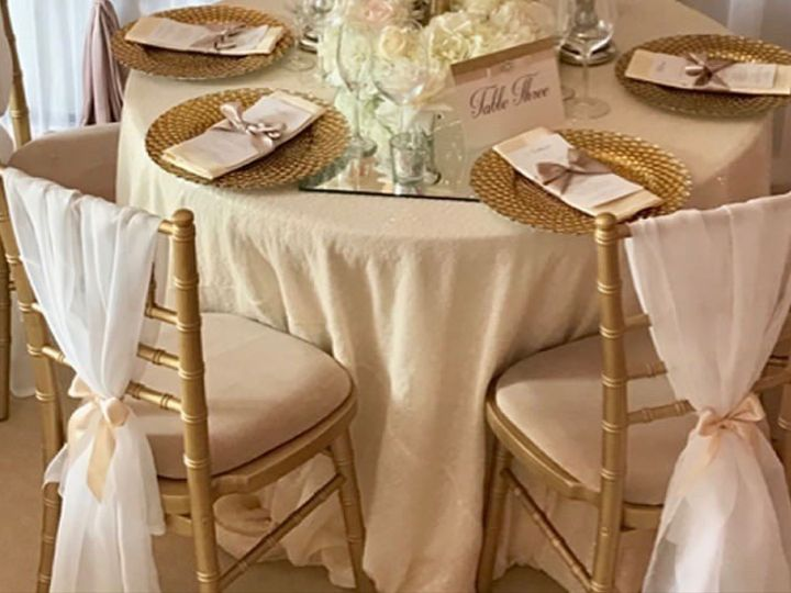 Tmx 1495574952798 Gold Chiavari Chairs And Gold Charger Plates Elk Grove Village, Illinois wedding florist
