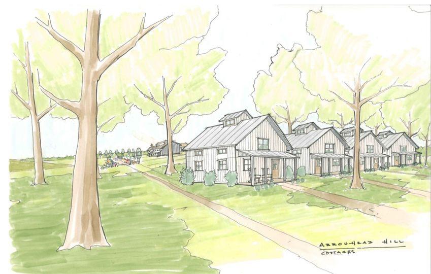 The quiet cottages