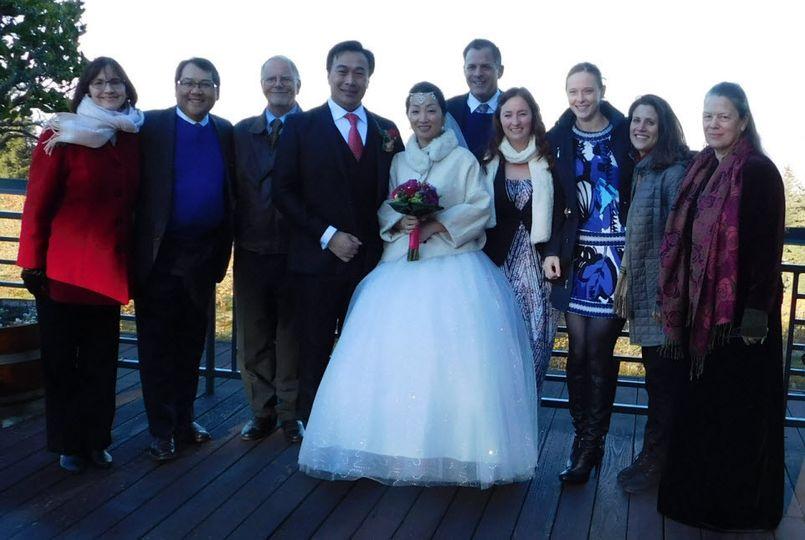 Donald and Jenny Cheng Wedding, Encore Vocalists, Thomas Fogarty Winery