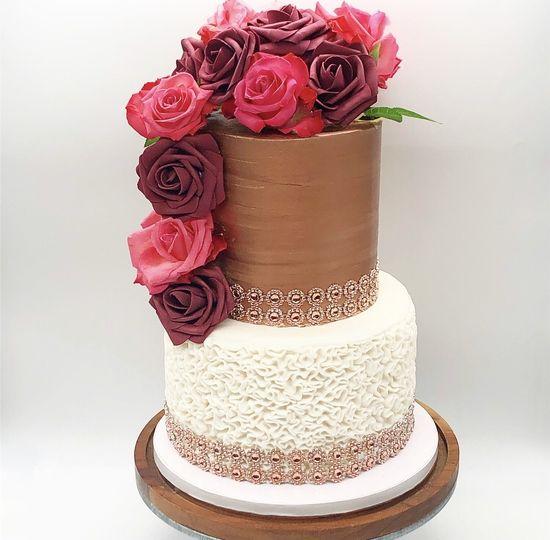 2-Tier Wedding Cake