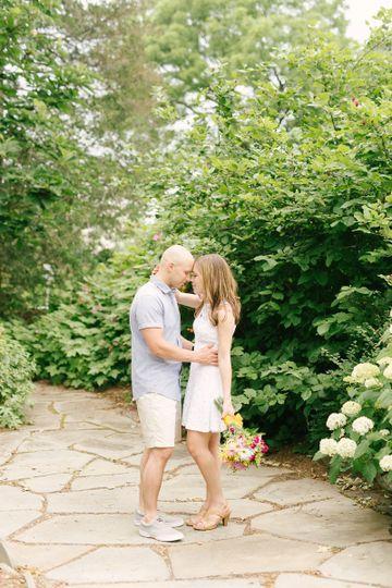 frelynghuysen arboretum engagement photographer st