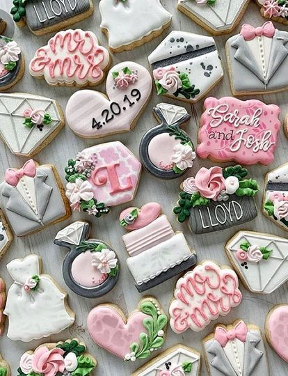 Wediing cookies