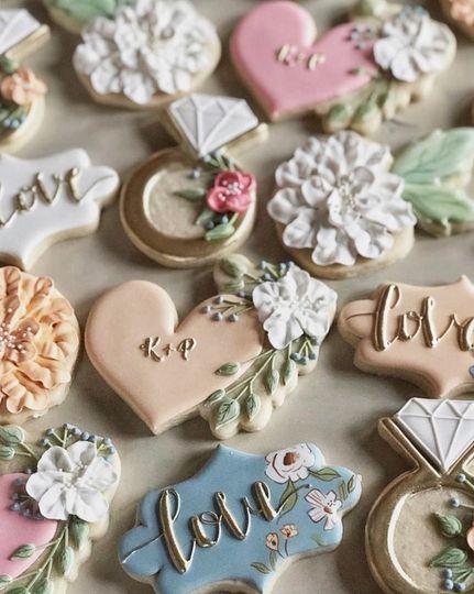 Tender wedding cookies