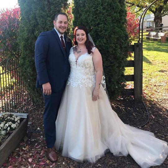 Gorgeous November Bride