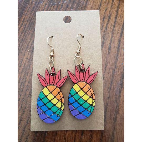 Prideapple earrings