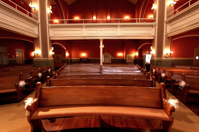 sanctuary view from the bimah