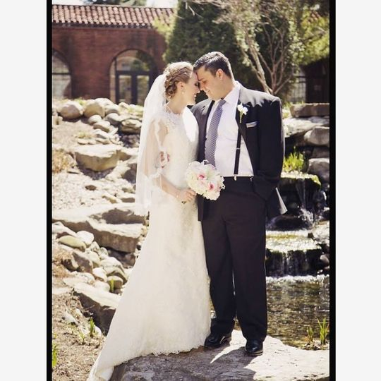 """From our stunning bride Marissa- """"Thank you so much for helping to make our special day picture..."""