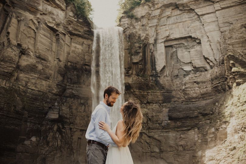 Waterfall backdrop