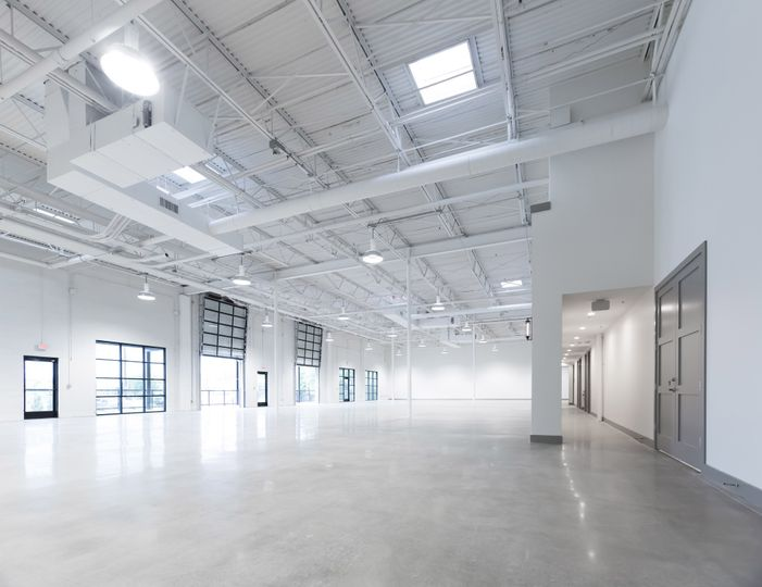 Modern, airy blank canvass