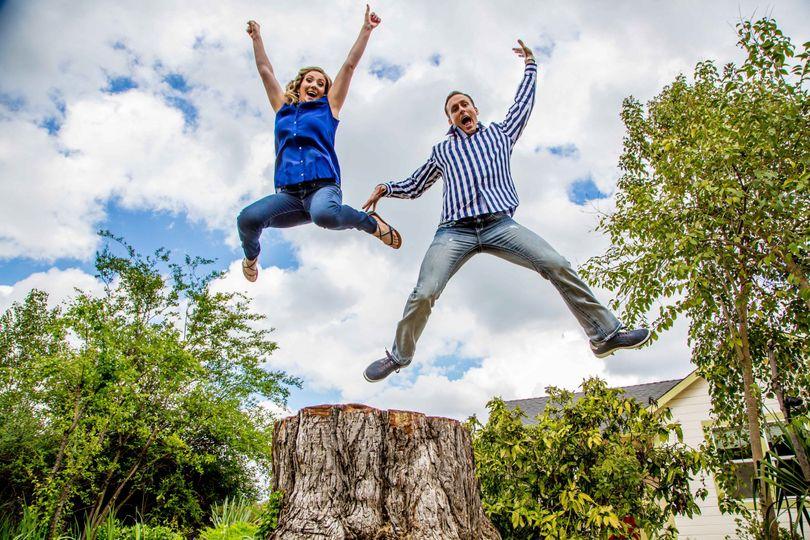Couple jump shot
