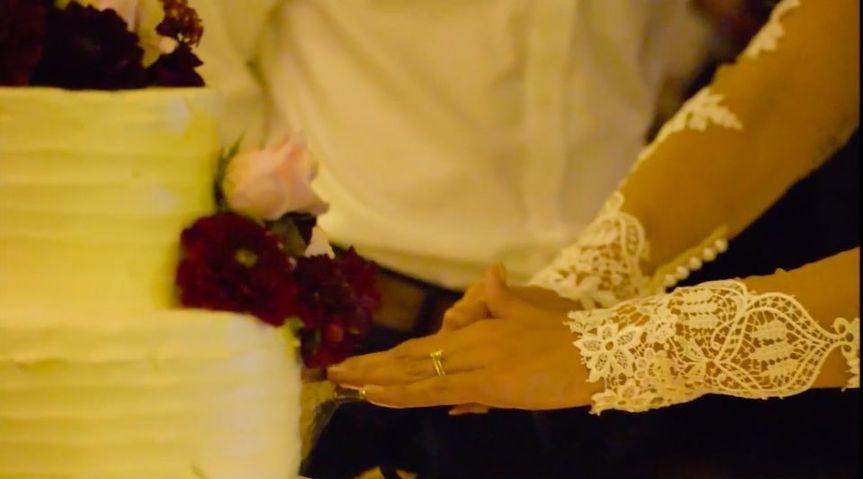 The bride details