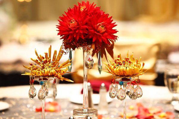 Tmx 1318374233608 Redgoldaquaweddingcenterpiece Arvada wedding eventproduction