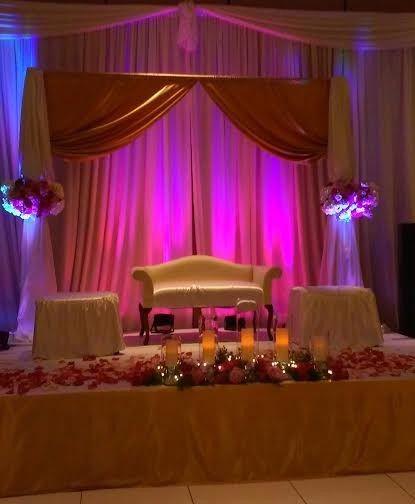 Tmx 1430945167800 Pinkgoldreceptionstage Arvada wedding eventproduction