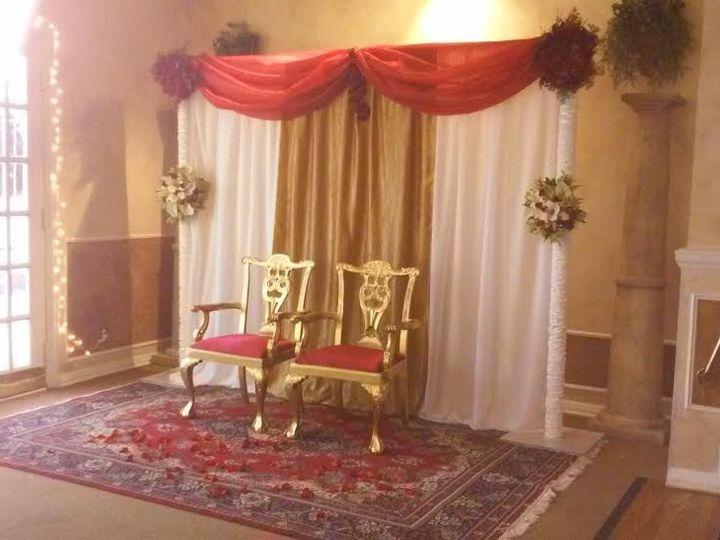 Tmx 1430945205285 Redgoldbackrop Arvada wedding eventproduction