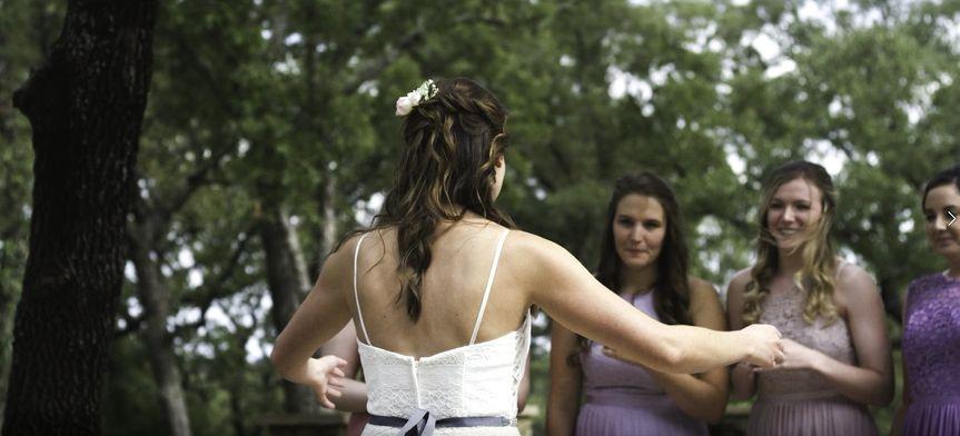 Wedding party's reaction
