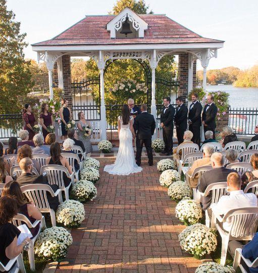 Couple wedding wedding ceremony