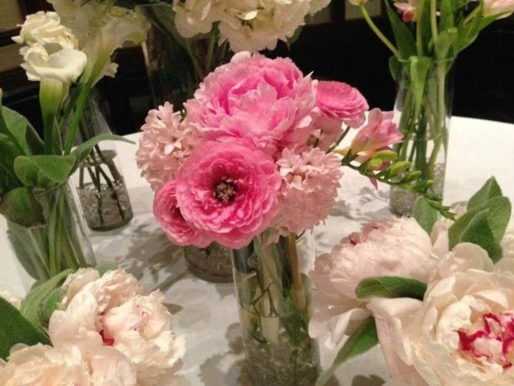 Tmx 1391007849455 Place Card Table Leslie  Chester wedding florist