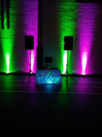 College Party Set up