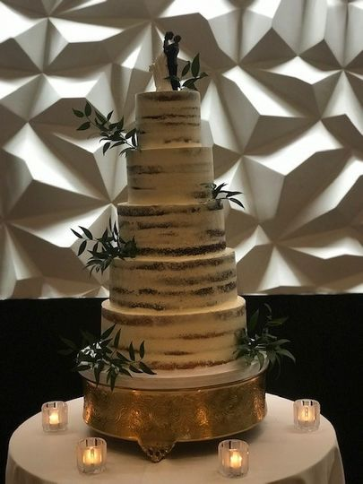 Fluffy Thoughts Naked Cake