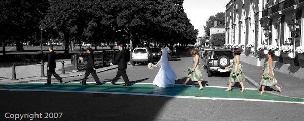 The couple are Beatle's fans and I suggested this shot before I knew they were. They told me about...