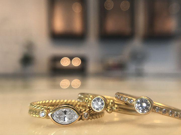 Tmx Rr Gansevoort Diamond Rings Hoopstock Dyan 51 984283 New York, NY wedding jewelry