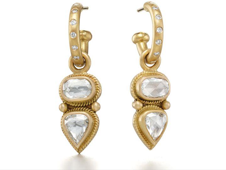 Tmx Rr Hoops Taj Diamond Drops 51 984283 New York, NY wedding jewelry