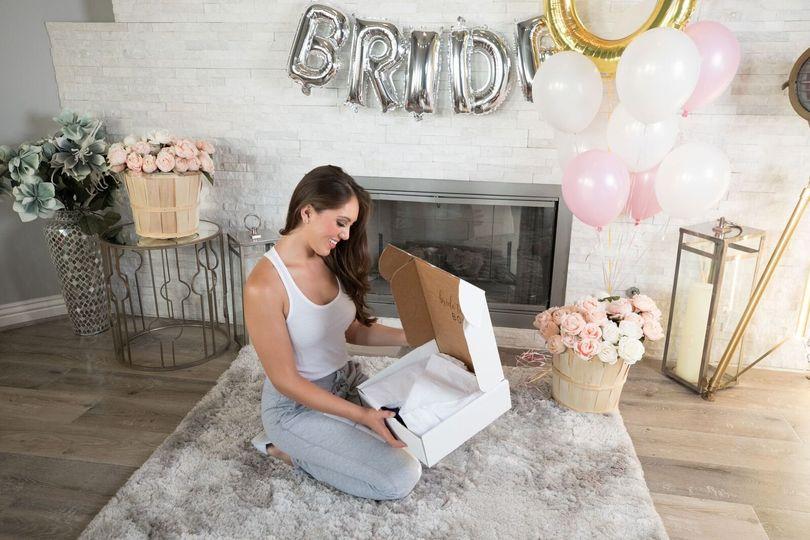 Bridal box subscription