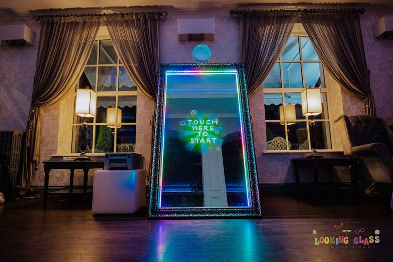 Photo booth in venue
