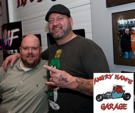LB (former Boston Bruin & current co-host of The Hill-Man Morning Show on WAAF)