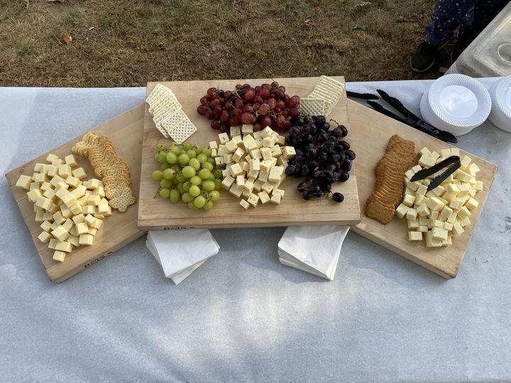 Standard cheese display
